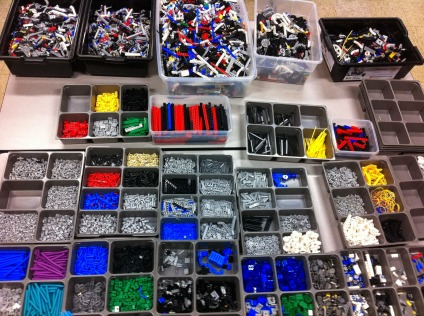 sorting legos - which bucket are you?